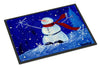 Happy Holidays Snowman Indoor or Outdoor Mat 24x36 PJC1085JMAT - the-store.com