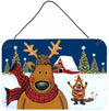 Buy this The Tree Famers Reindeer Christmas Wall or Door Hanging Prints PJC1088DS812