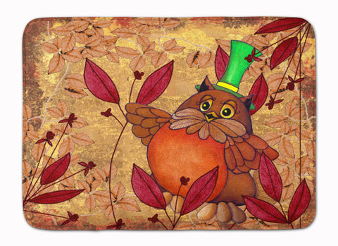 Buy this Hootie Fall Owl Machine Washable Memory Foam Mat PJC1092RUG