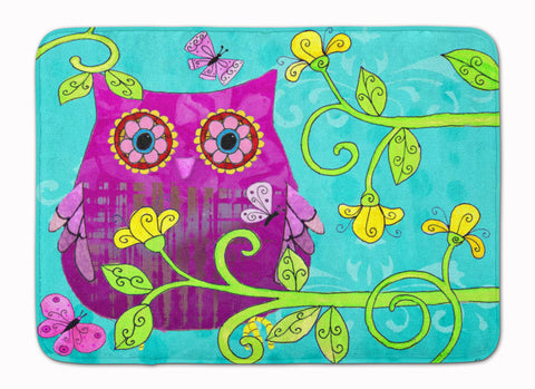 Buy this Sittin in the Flowers Owl Machine Washable Memory Foam Mat PJC1093RUG