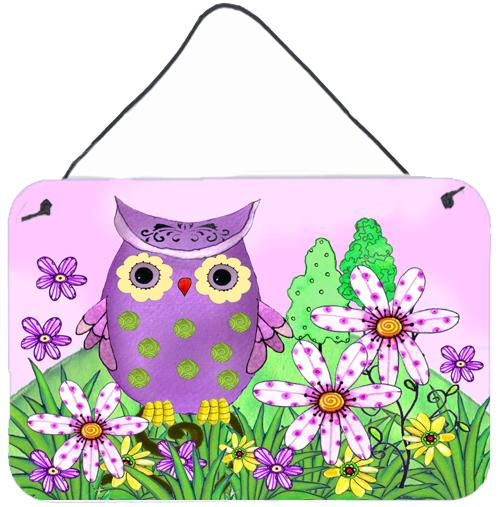 Who is Your Friend Owl Wall or Door Hanging Prints by Caroline's Treasures