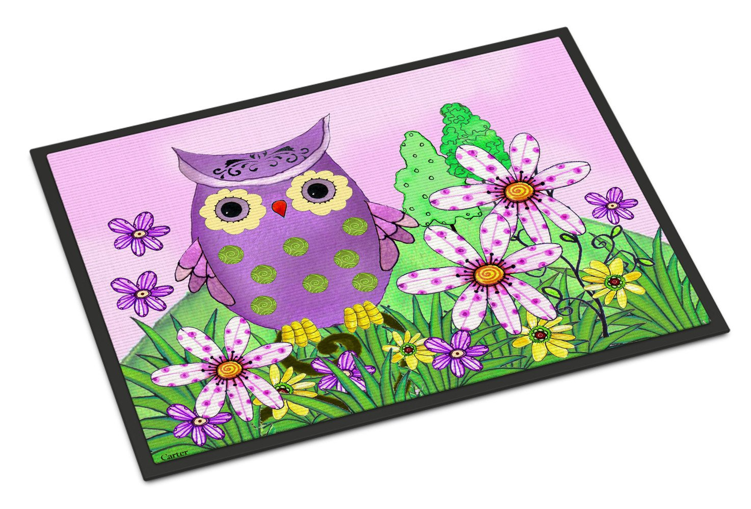 Buy this Who is Your Friend Owl Indoor or Outdoor Mat 24x36 PJC1096JMAT