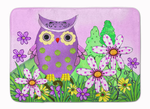 Buy this Who is Your Friend Owl Machine Washable Memory Foam Mat PJC1096RUG