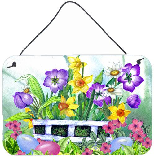 Buy this Finding Easter Eggs Wall or Door Hanging Prints PJC1099DS812