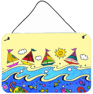 Buy this Summer Sail Away Sailboats Wall or Door Hanging Prints PJC1105DS812