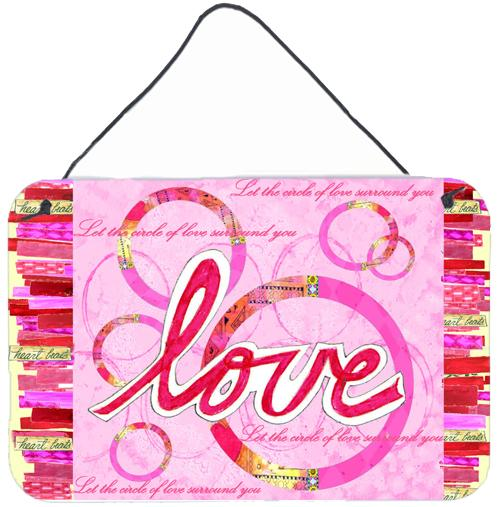 Buy this Love is a Circle Valentine's Day Wall or Door Hanging Prints