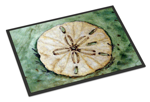 Buy this Sending Sand Dollars Back to Sea Indoor or Outdoor Mat 18x27 PJC1117MAT