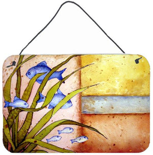 Buy this Message From The Sea Fishes Wall or Door Hanging Prints PJC1118DS812