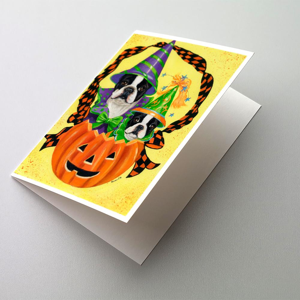 Buy this Boston Terrier Halloweenies Greeting Cards and Envelopes Pack of 8