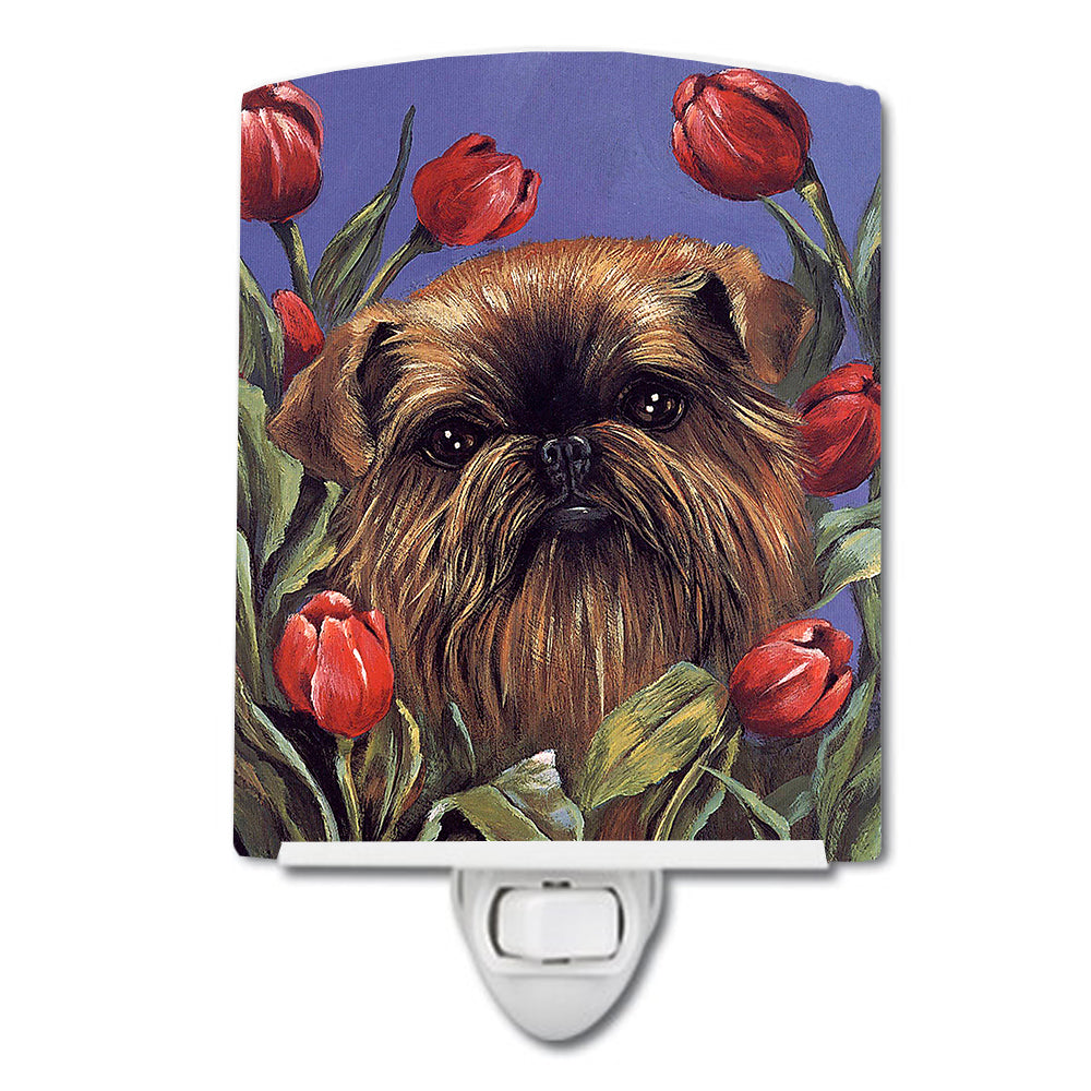 Brussels Griffon Peek a Boo Ceramic Night Light PPP3041CNL by Caroline's Treasures