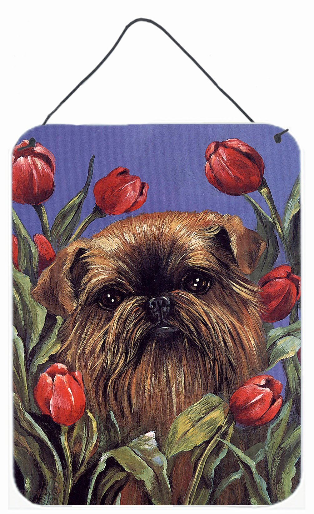 Buy this Brussels Griffon Peek a Boo Wall or Door Hanging Prints PPP3041DS1216