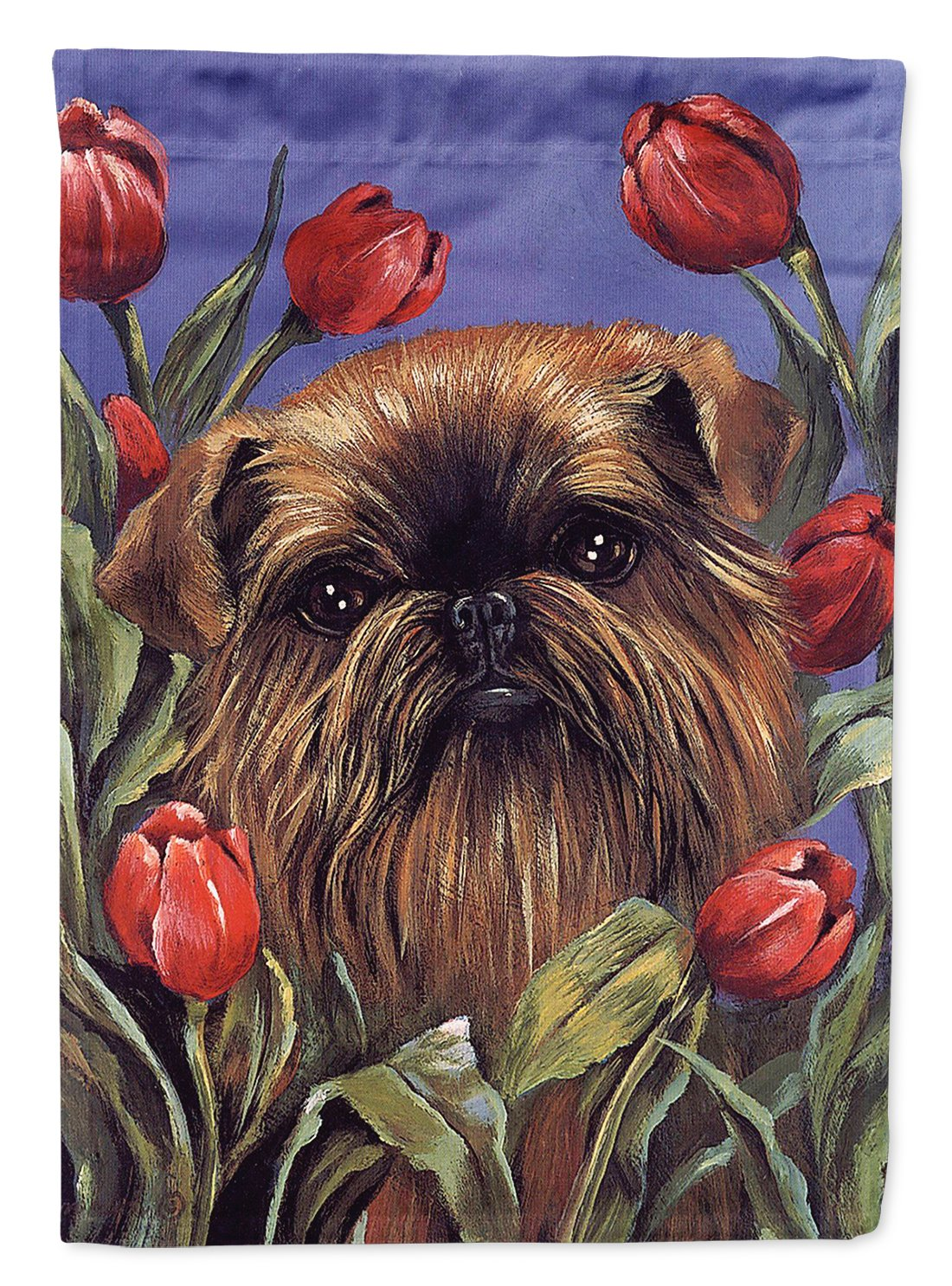 Buy this Brussels Griffon Peek a Boo Flag Garden Size PPP3041GF