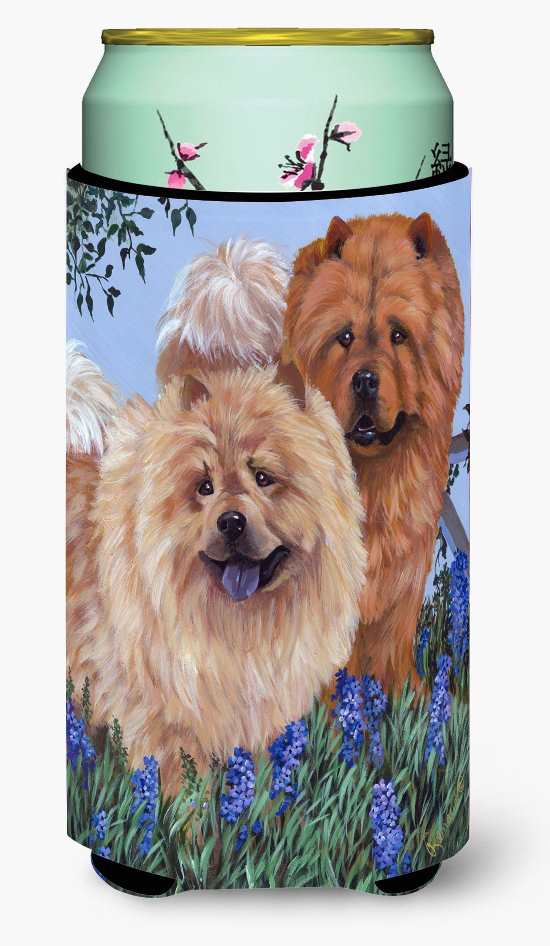 Chow Chow Meadow Tall Boy Hugger PPP3073TBC by Caroline's Treasures