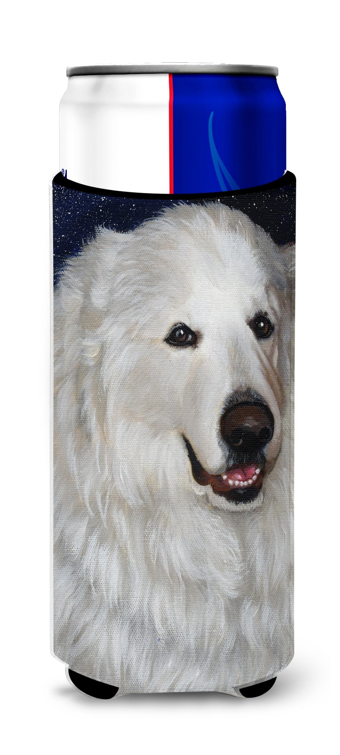 Great Pyrenees Meisha Ultra Hugger for slim cans PPP3104MUK by Caroline's Treasures