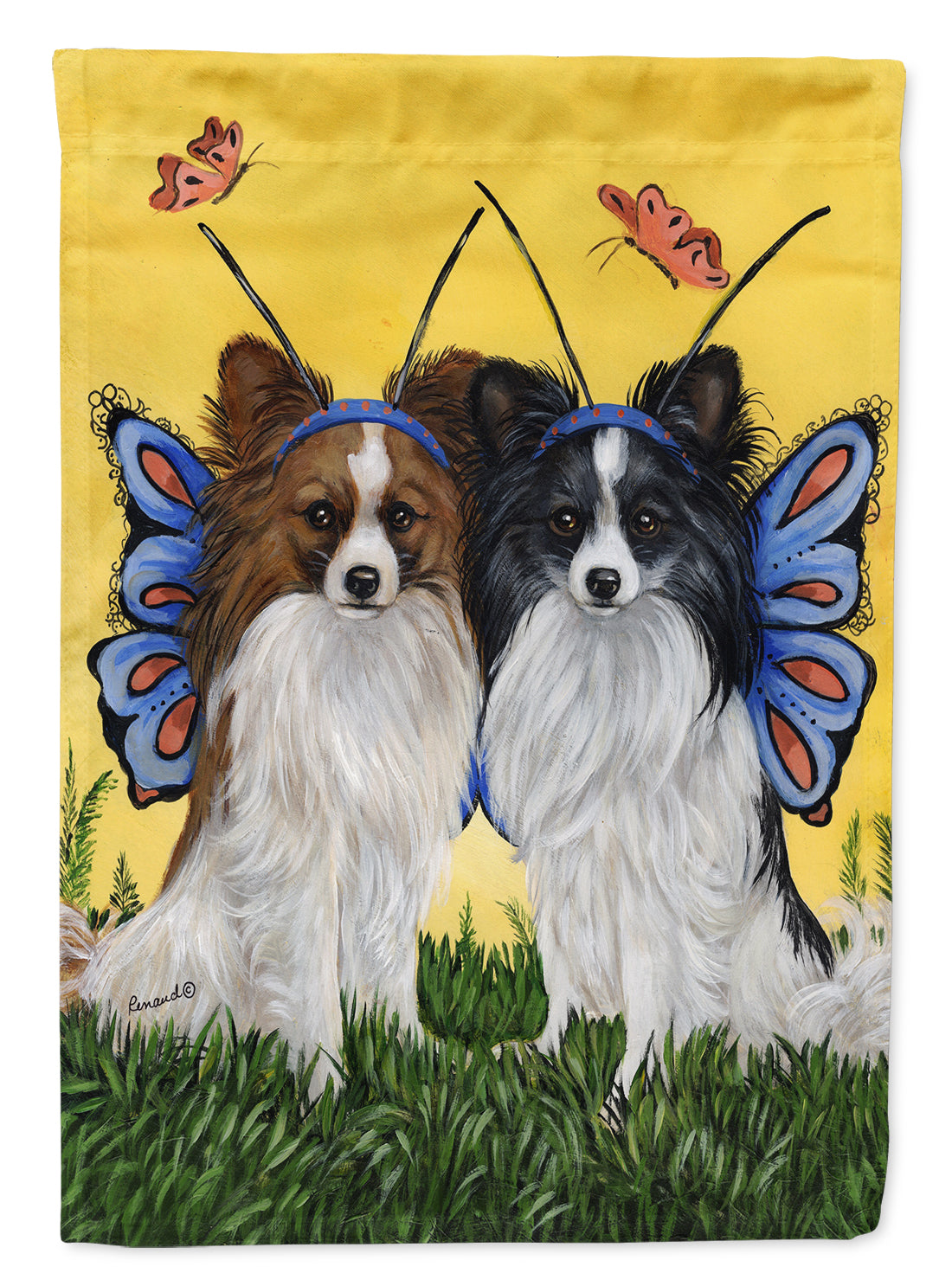 Papillon Butterflies Flag Garden Size PPP3143GF by Caroline's Treasures