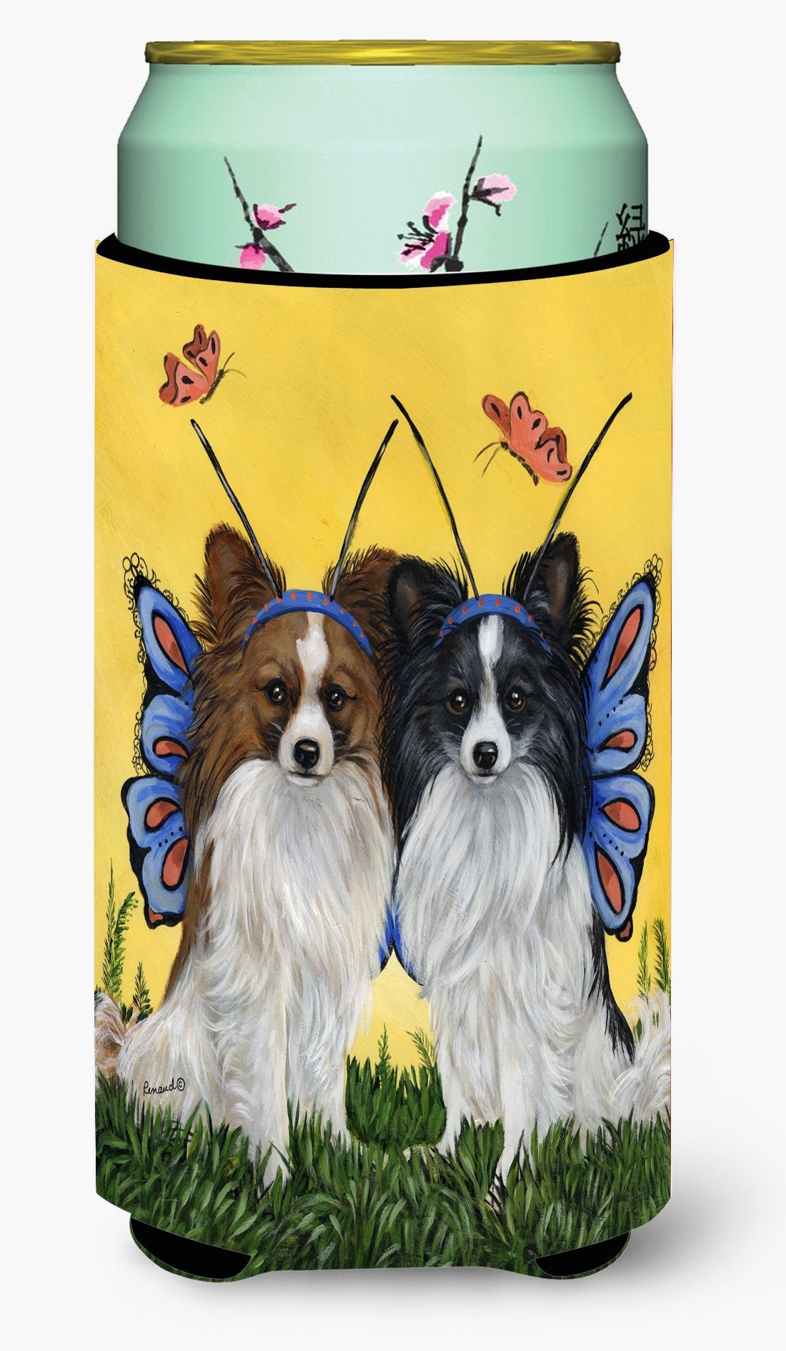Papillon Butterflies Tall Boy Hugger PPP3143TBC by Caroline's Treasures