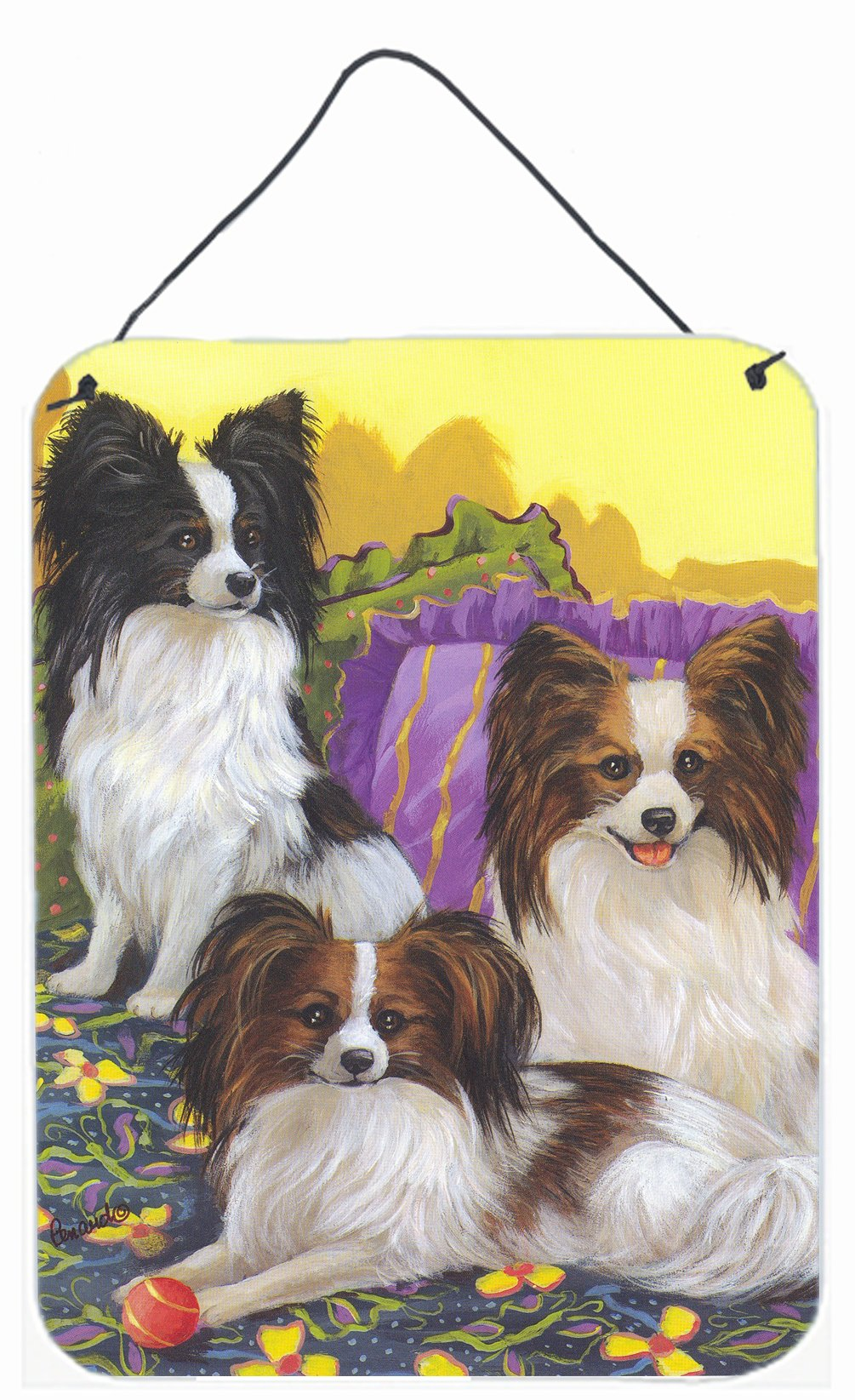 Buy this Papillon Party Pals Wall or Door Hanging Prints PPP3144DS1216