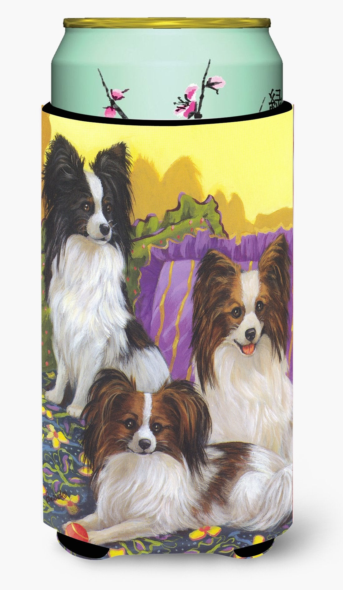 Papillon Party Pals Tall Boy Hugger PPP3144TBC by Caroline's Treasures
