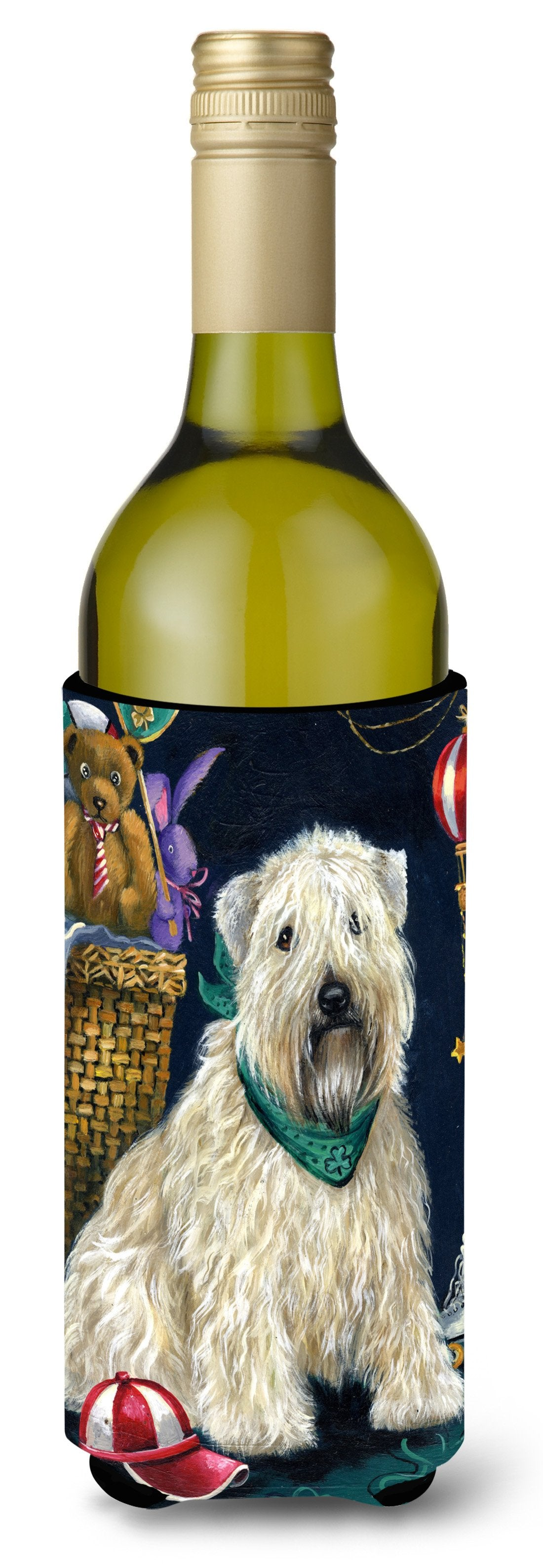 Wheaten Terrier Playroom Wine Bottle Hugger PPP3193LITERK by Caroline's Treasures