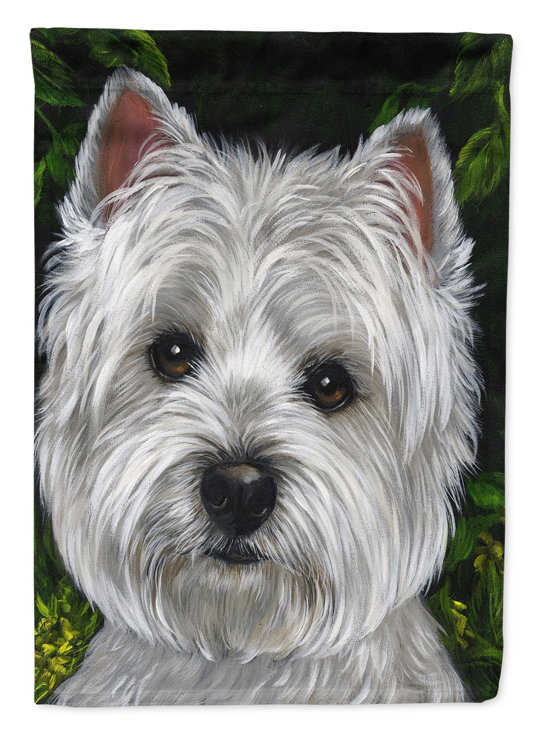 Buy this Westie Baby Face Flag Garden Size PPP3201GF