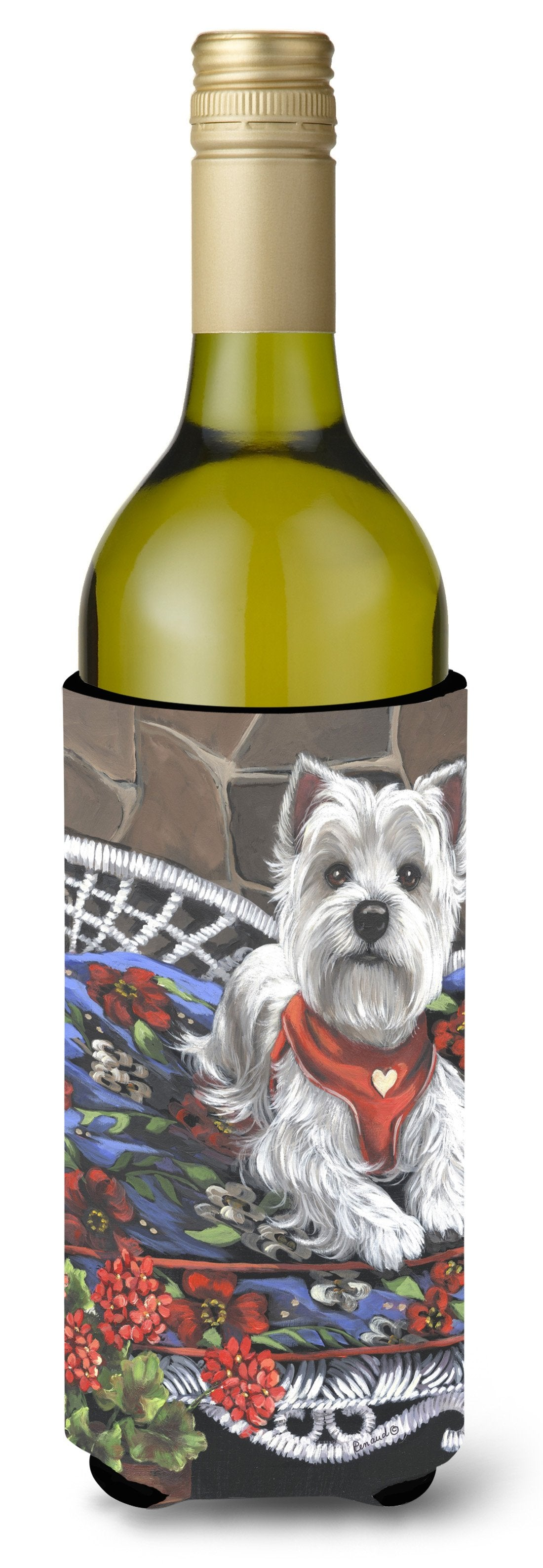 Westie Hannah Mae Wine Bottle Hugger PPP3206LITERK by Caroline's Treasures