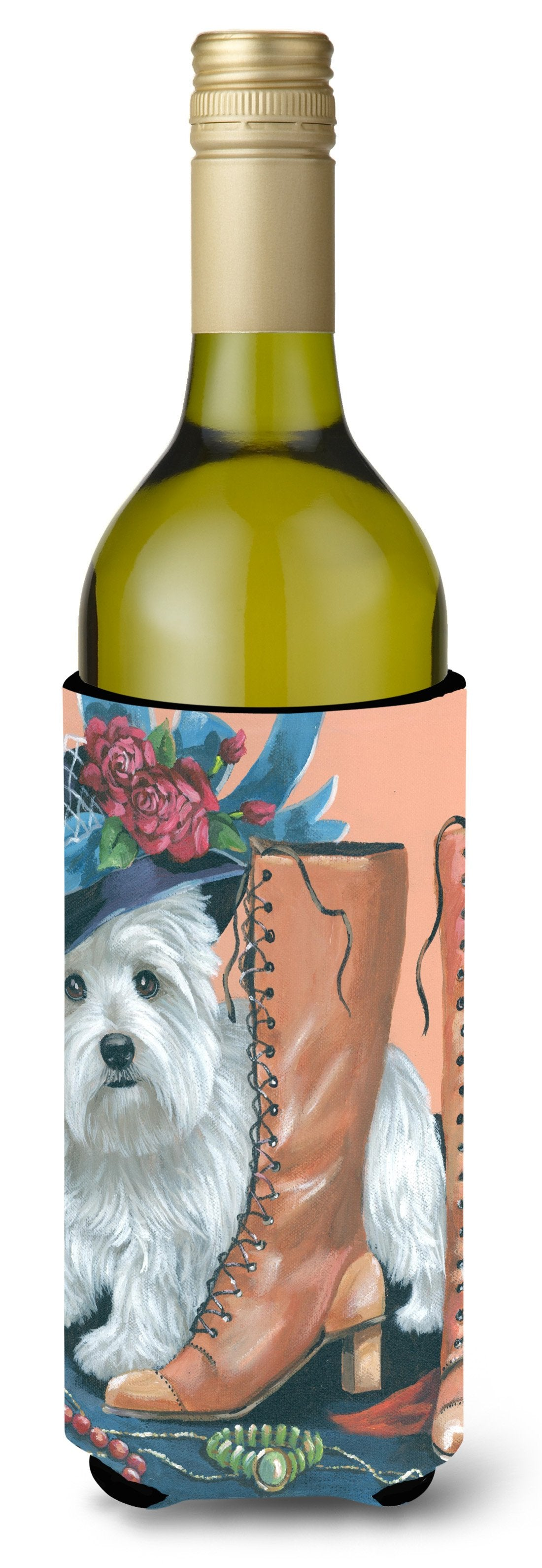Westie in Mom's Closet Wine Bottle Hugger PPP3211LITERK by Caroline's Treasures