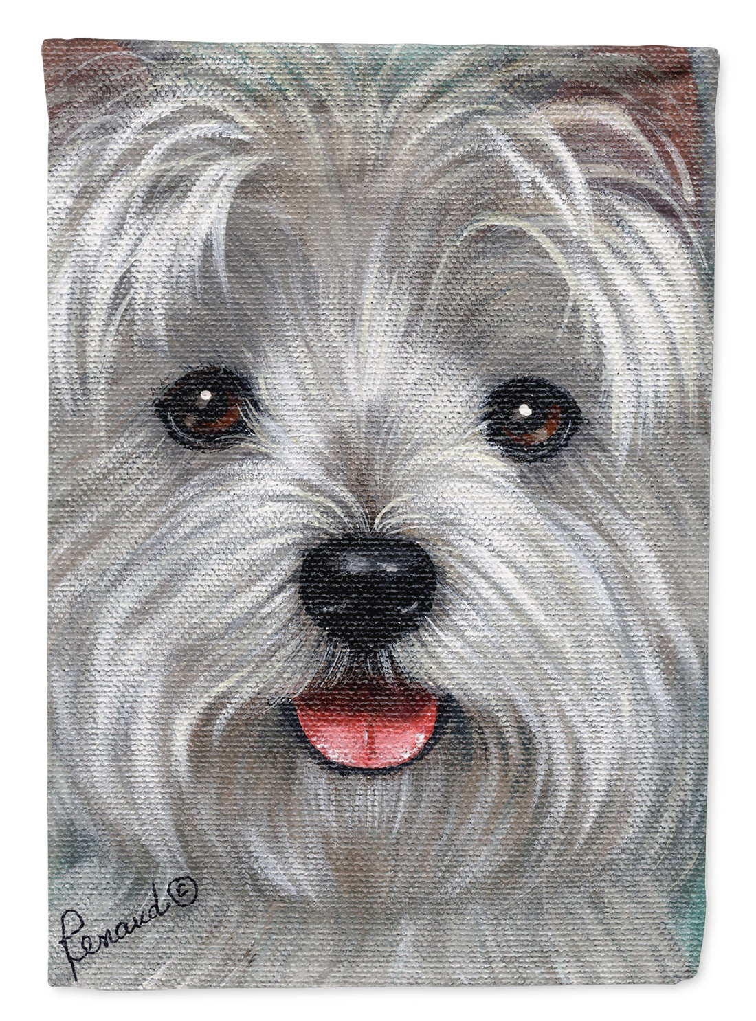 Buy this Westie Kissable Face Flag Garden Size PPP3212GF