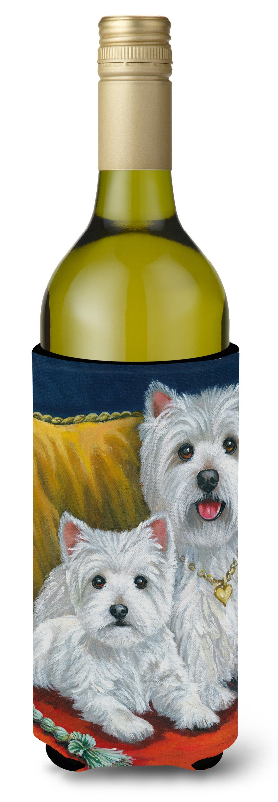Westie Mom and Pup Wine Bottle Hugger PPP3218LITERK by Caroline's Treasures