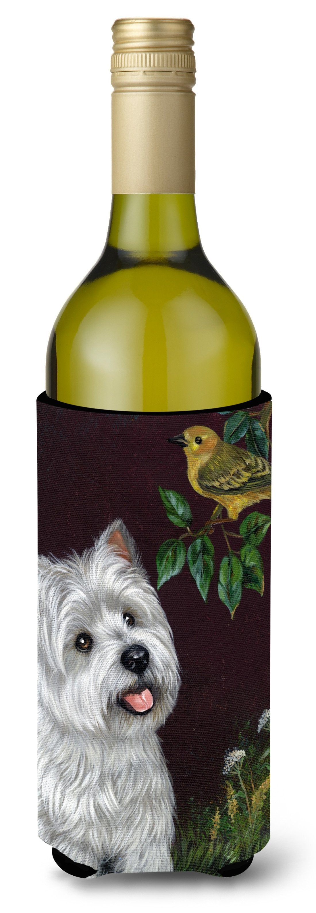 Westie Nature Wine Bottle Hugger PPP3219LITERK by Caroline's Treasures
