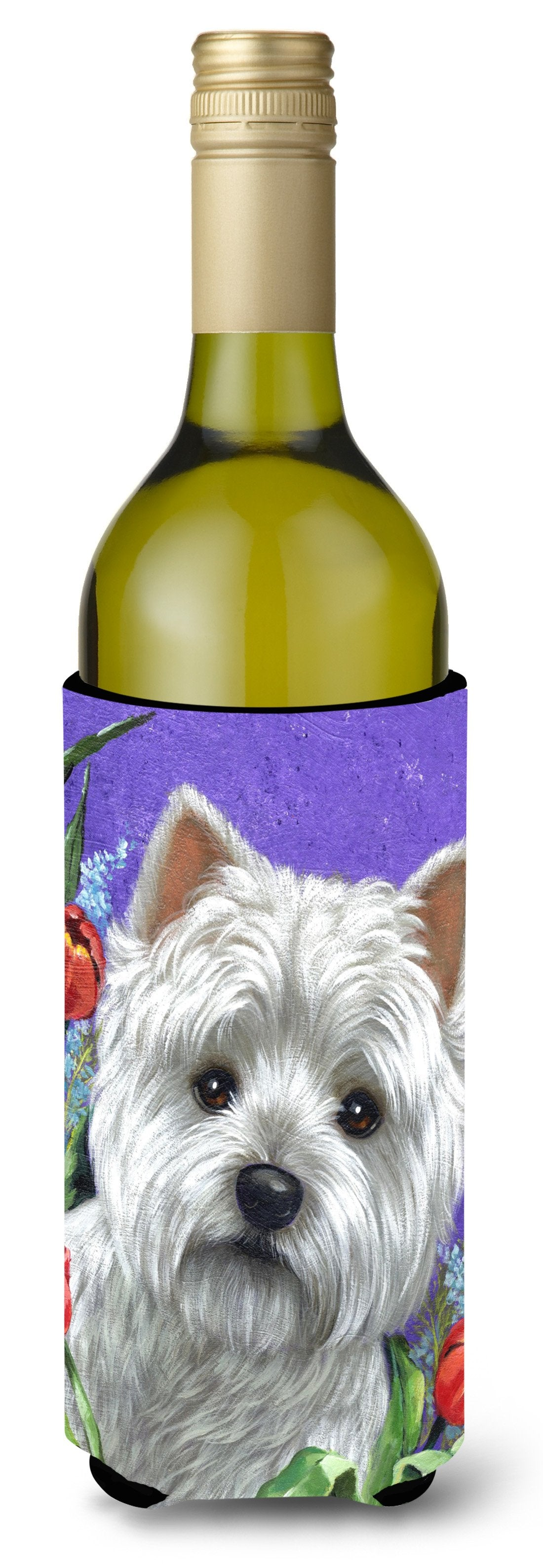 Westie Paradise Wine Bottle Hugger PPP3220LITERK by Caroline's Treasures
