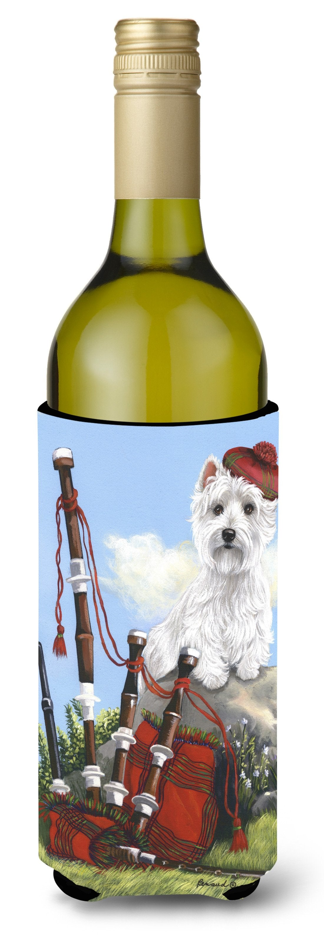 Westie Piper Wine Bottle Hugger PPP3222LITERK by Caroline's Treasures