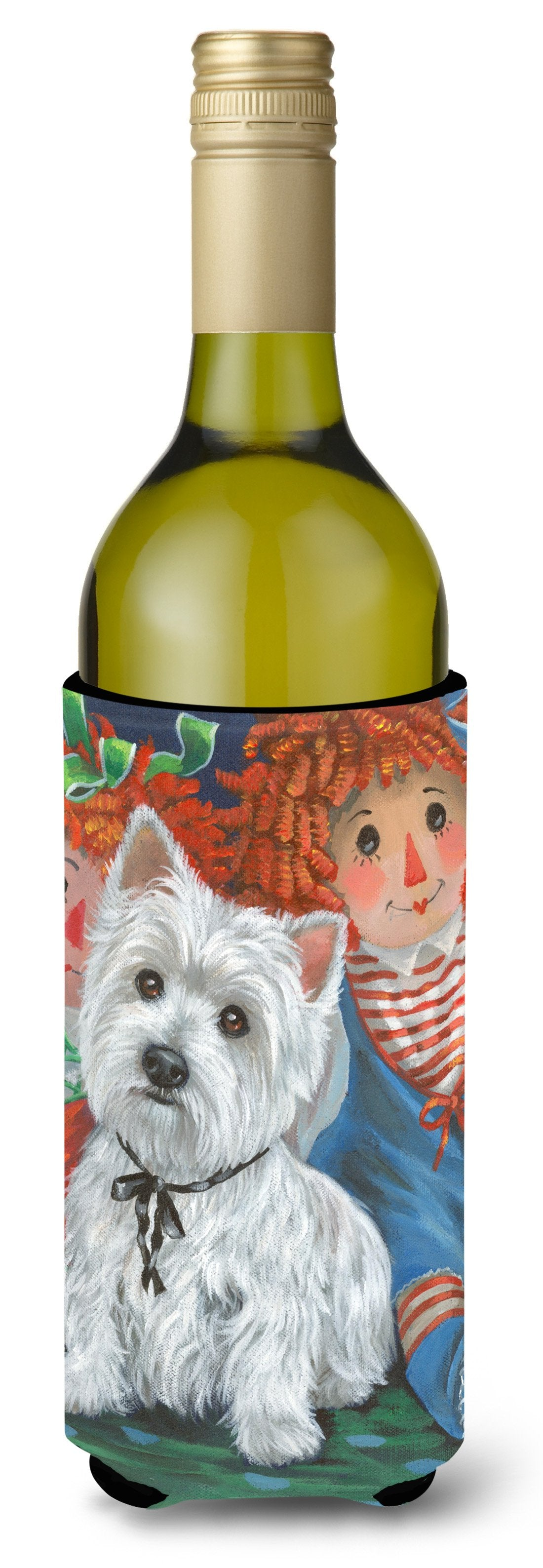 Westie Ragdoll Wine Bottle Hugger PPP3226LITERK by Caroline's Treasures