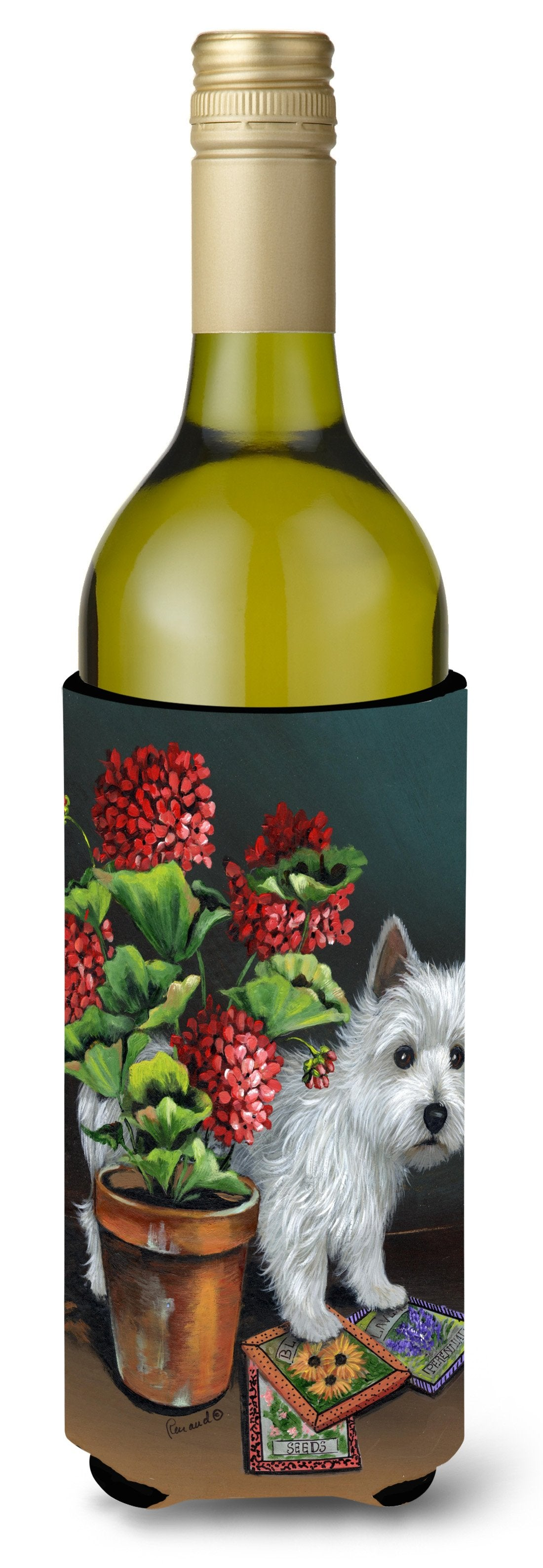 Westie Seedlings Wine Bottle Hugger PPP3231LITERK by Caroline's Treasures