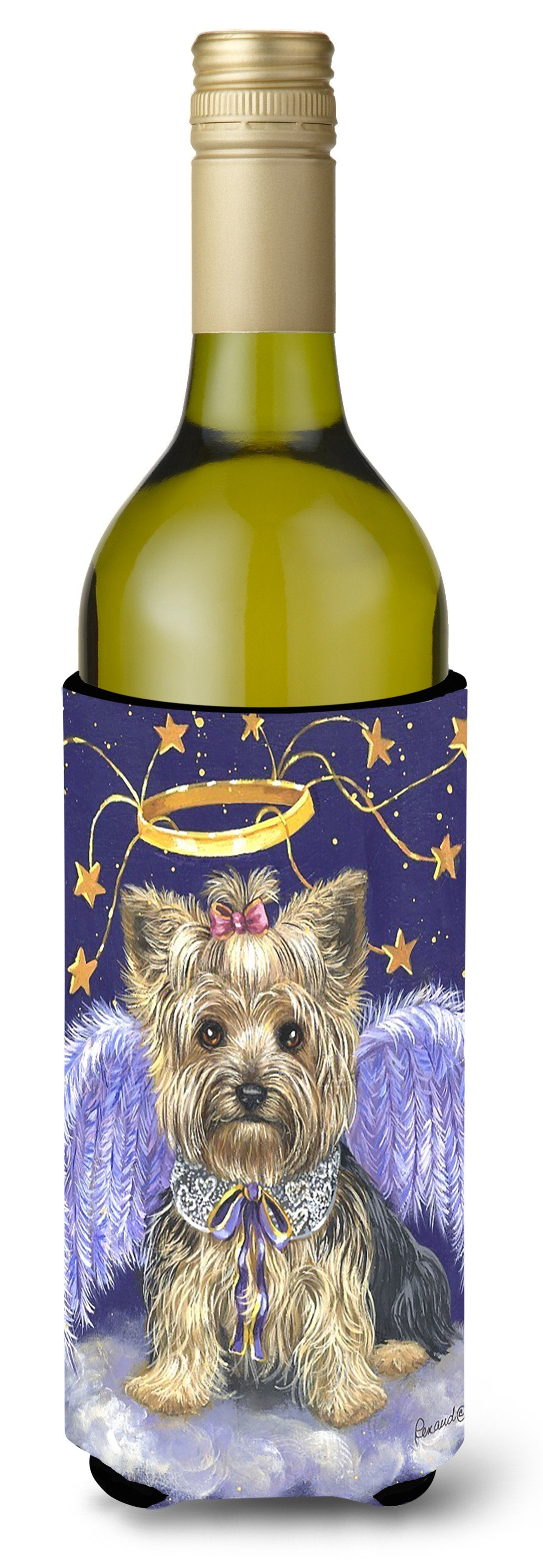 Yorkie Christmas Angel Wine Bottle Hugger PPP3243LITERK by Caroline's Treasures