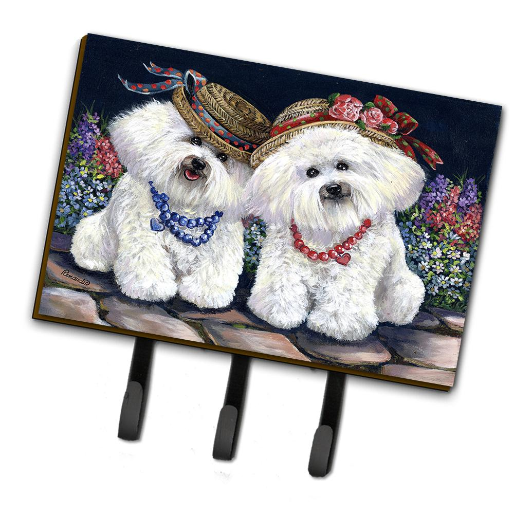 Buy this Bichon Frise Sisters Leash or Key Holder PPP3247TH68