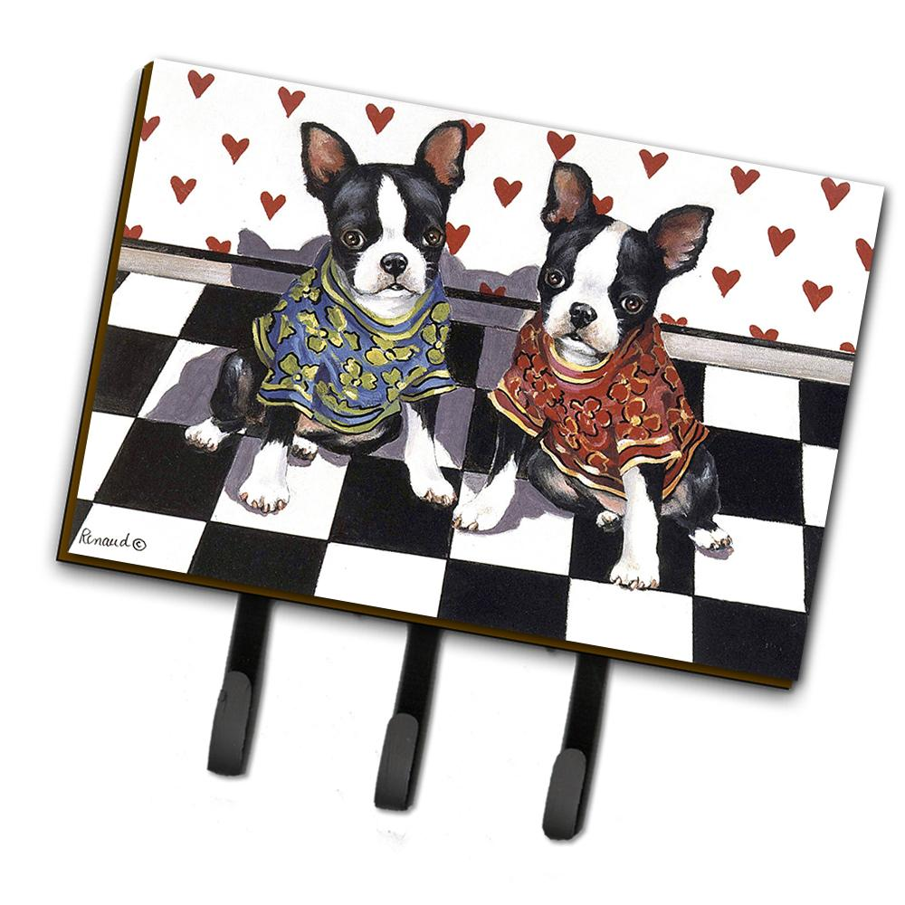 Buy this Boston Terrier Puppy Love Leash or Key Holder PPP3249TH68