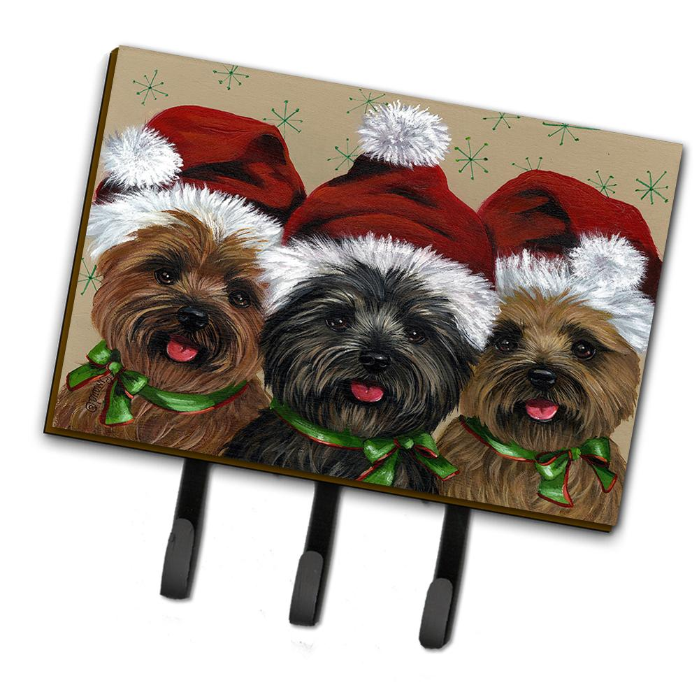 Buy this Cairn Terrier Christmas Ceaser and Co Leash or Key Holder PPP3251TH68