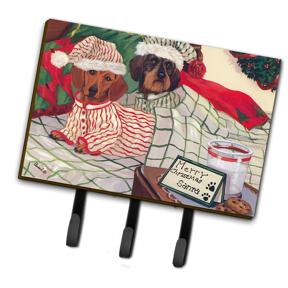 Buy this Dachshund Christmas Waiting for Santa Leash or Key Holder PPP3260TH68