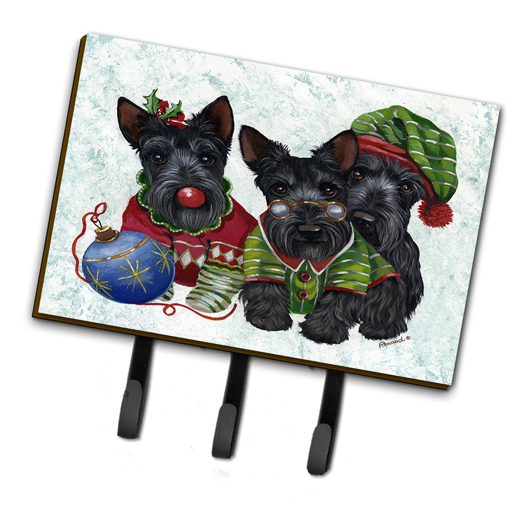 Buy this Scottish Terrier Christmas Elves Leash or Key Holder PPP3270TH68