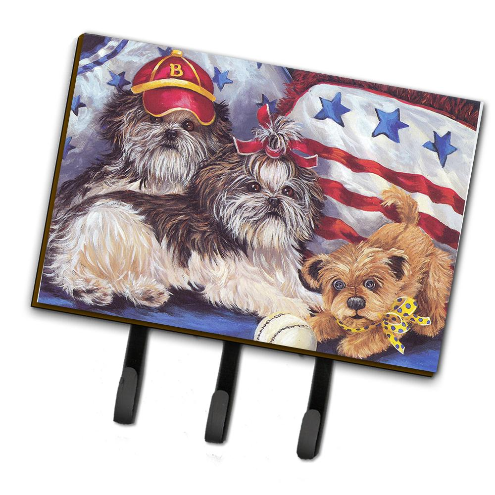 Buy this Shih Tzu Americana Sweethearts Leash or Key Holder PPP3273TH68