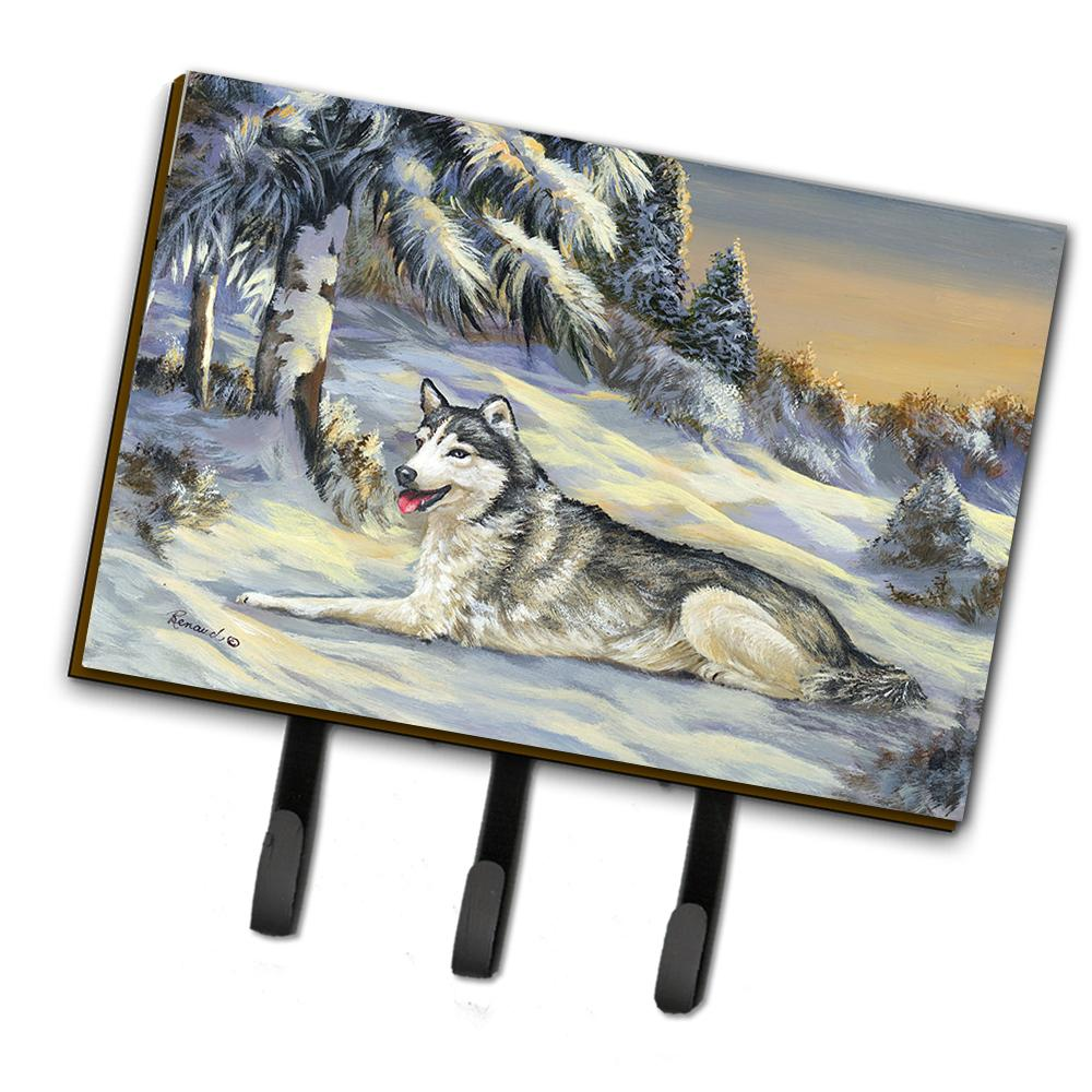 Buy this Siberian Husky Winterscape Leash or Key Holder PPP3274TH68