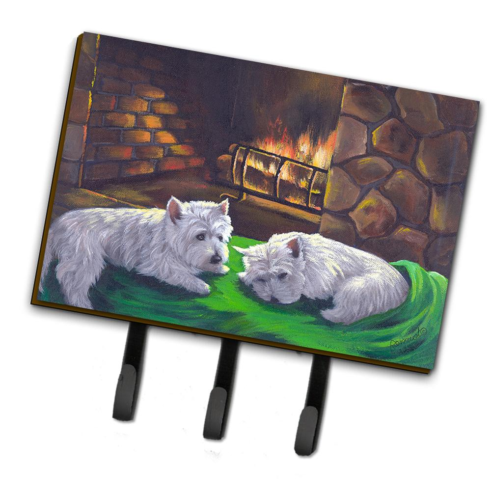 Buy this Westie A Winter's Night Leash or Key Holder PPP3276TH68
