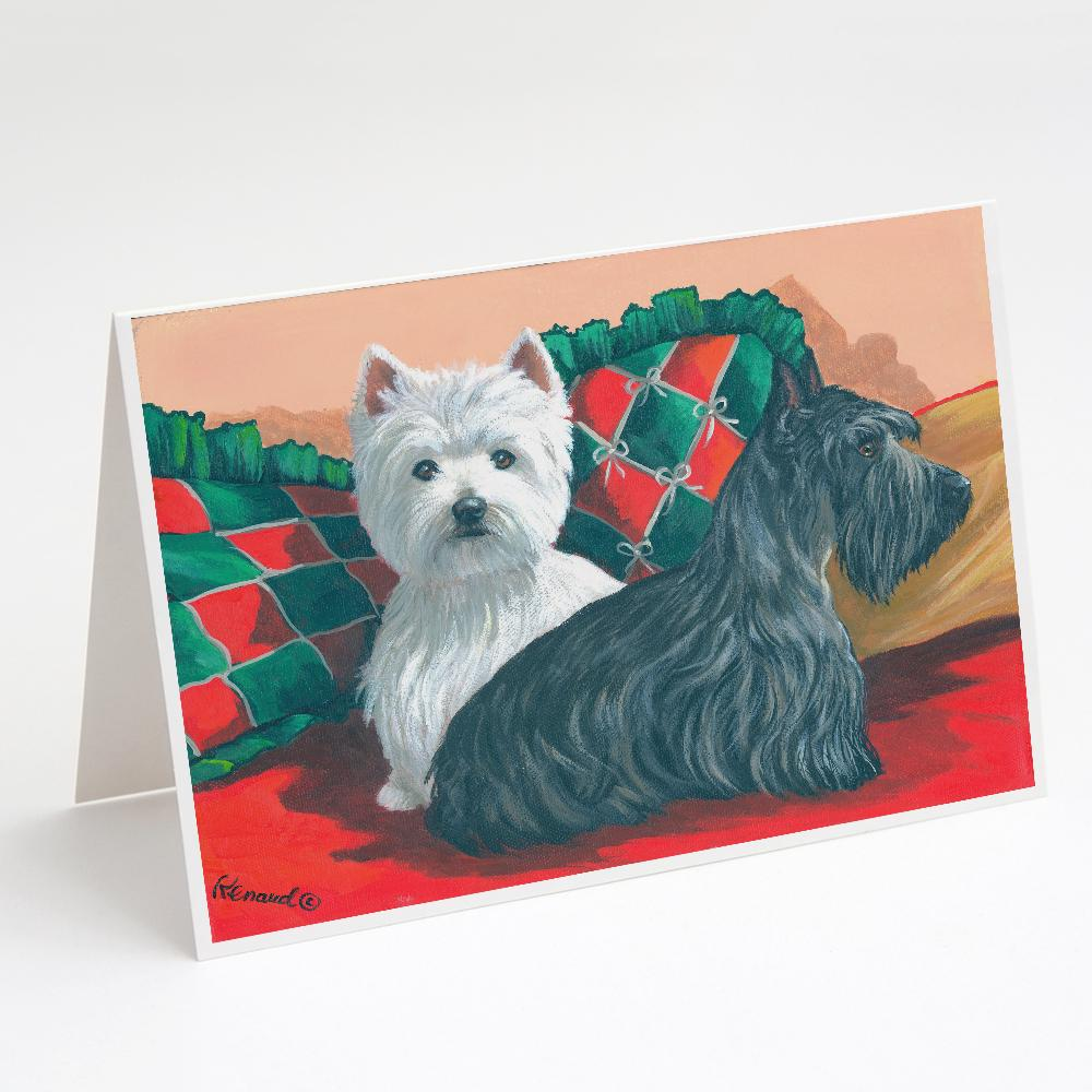 Buy this Westie and Scottie Great Scots Greeting Cards and Envelopes Pack of 8
