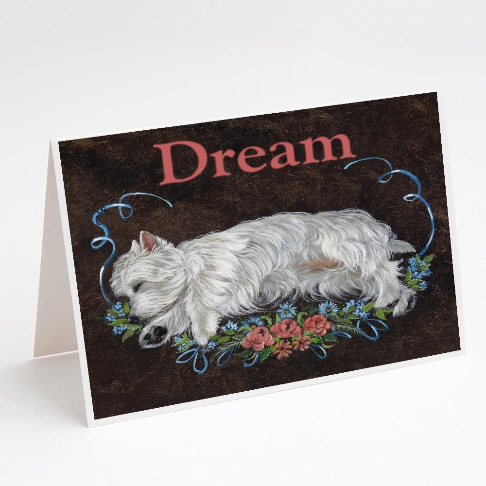 Buy this Westie Dream Greeting Cards and Envelopes Pack of 8