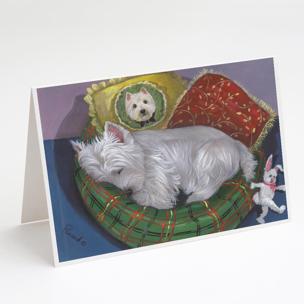 Buy this Westie Precious Toto Greeting Cards and Envelopes Pack of 8