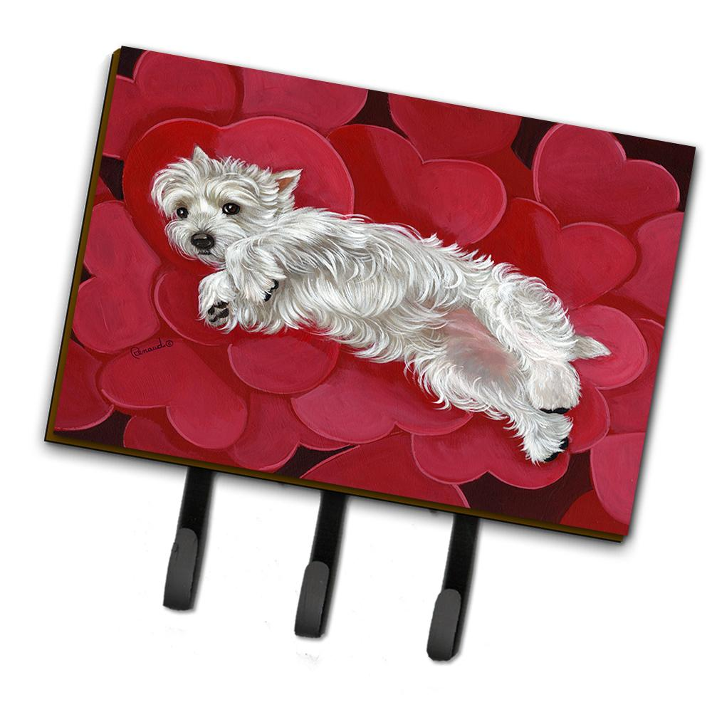Buy this Westie Queen of Hearts Leash or Key Holder PPP3283TH68