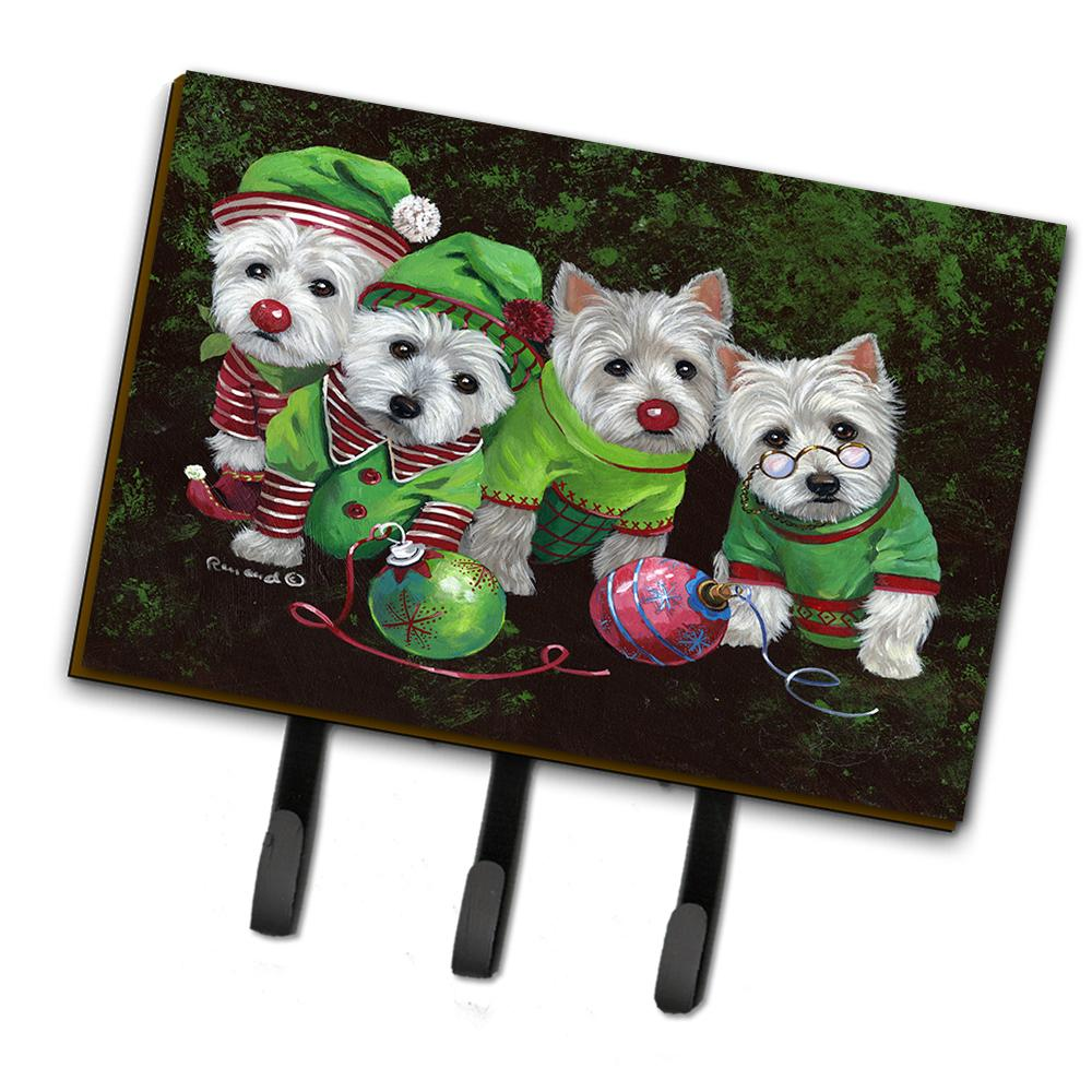 Buy this Westie Christmas Santa's Assistants Leash or Key Holder PPP3285TH68