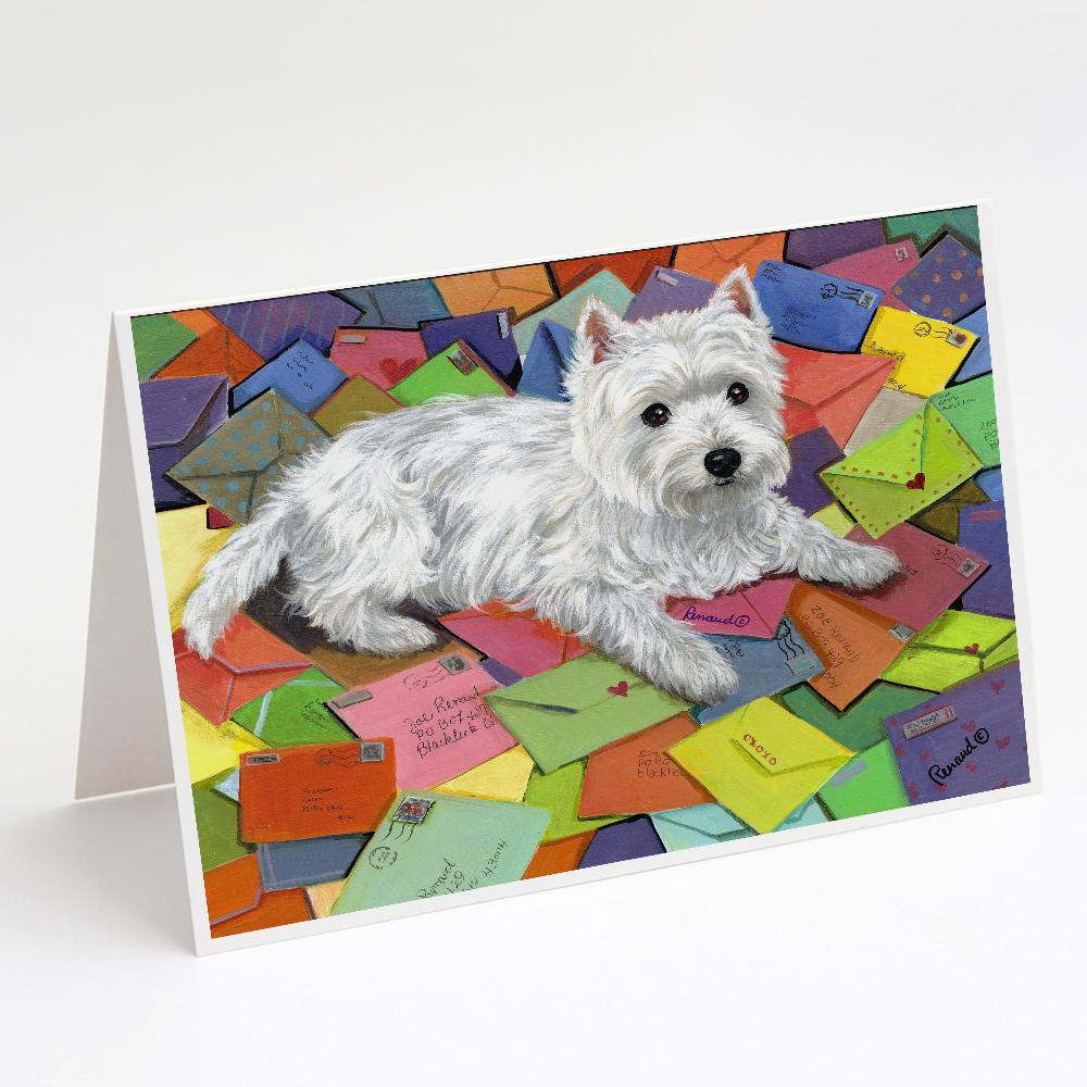 Buy this Westie Zoe's Mail Greeting Cards and Envelopes Pack of 8
