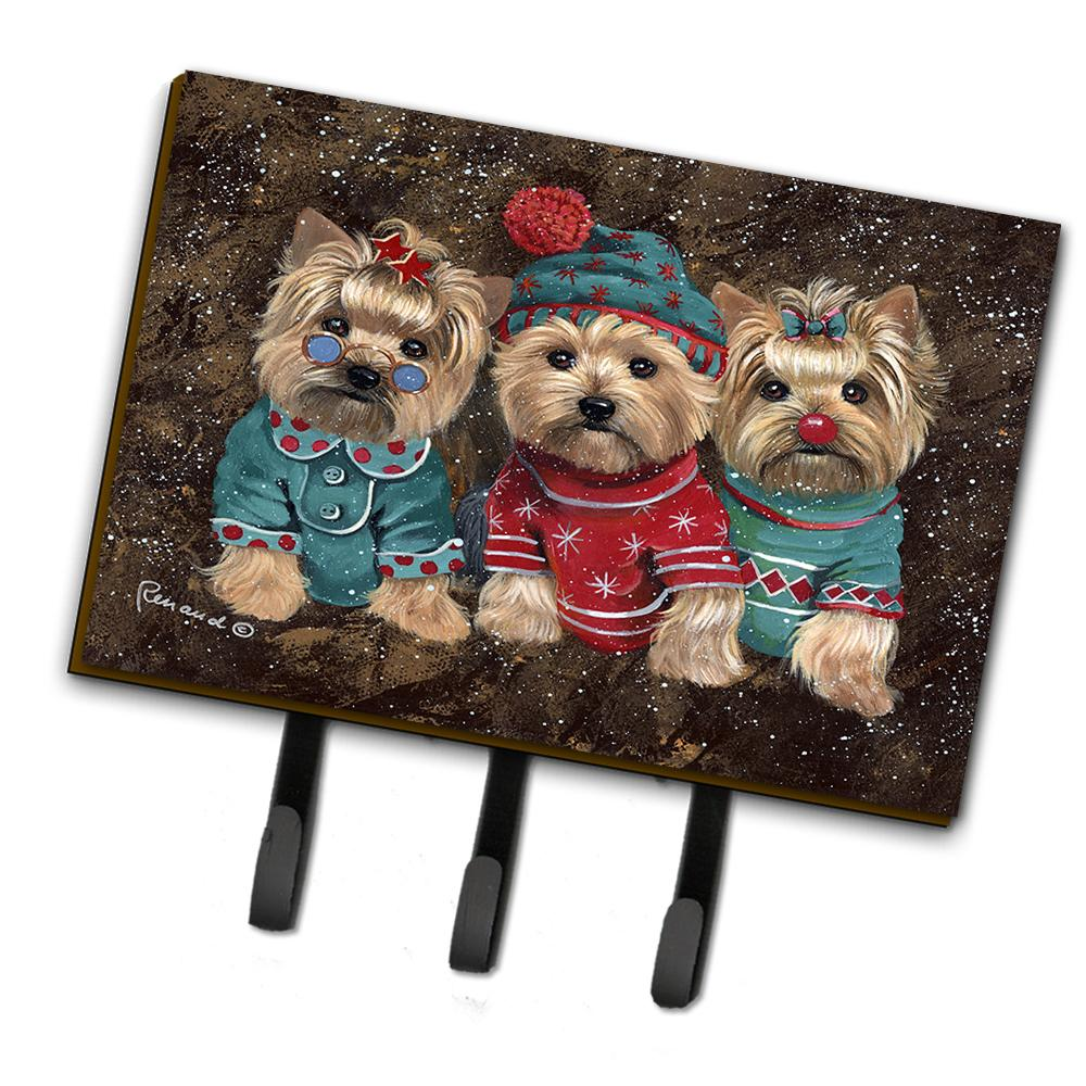 Buy this Yorkshire Terrier Yorkie Christmas Elves Leash or Key Holder PPP3291TH68