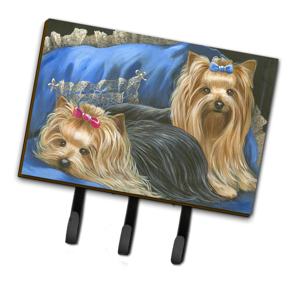 Buy this Yorkshire Terrier Yorkie Satin and Lace Leash or Key Holder PPP3293TH68